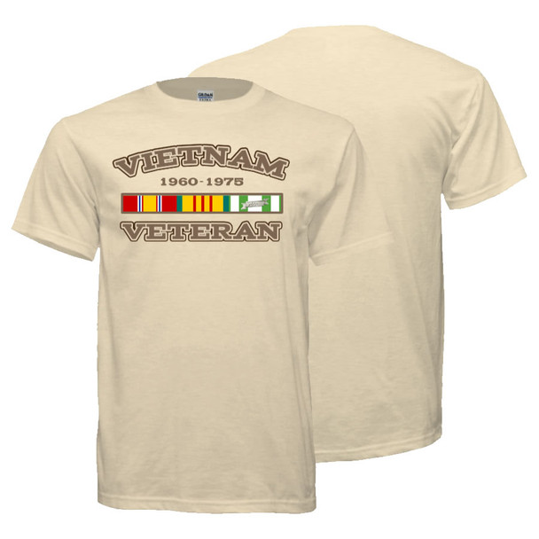 Vietnam Veteran T-Shirt (Khaki)