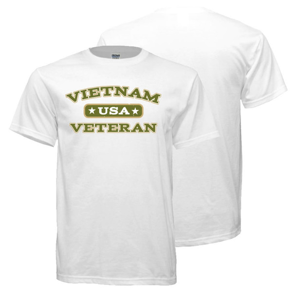 Vietnam Veteran T-Shirt (White)