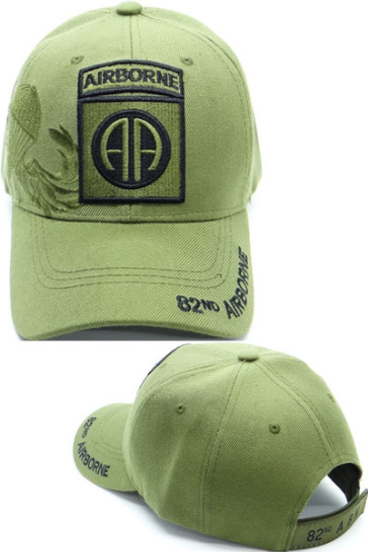 82nd Airborne Division Cap Shadow - Olive