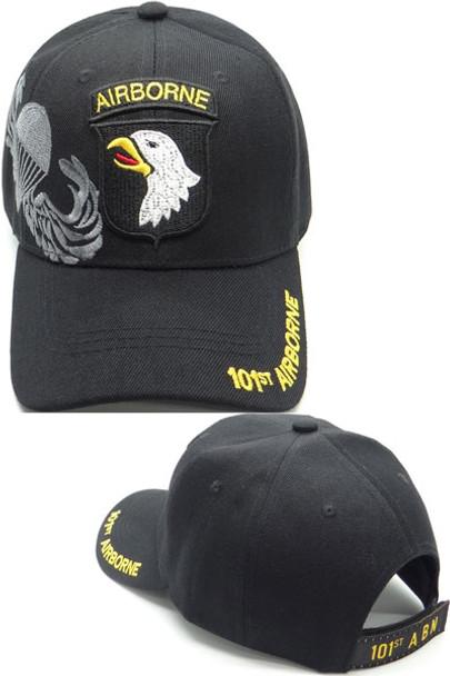 101st Airborne Division Caps - Shadow - Black