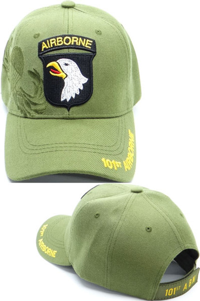 101st Airborne Division Caps - Shadow - Olive