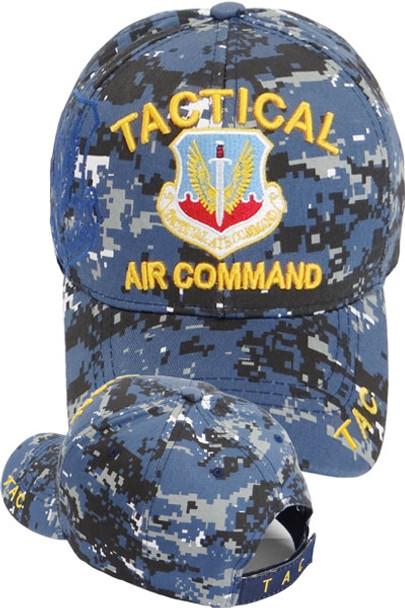 Tactical Air Command Cap Shadow - Blue Digital Camo
