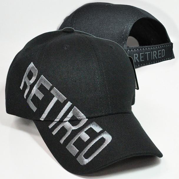 Retired Cap Shadow - Black