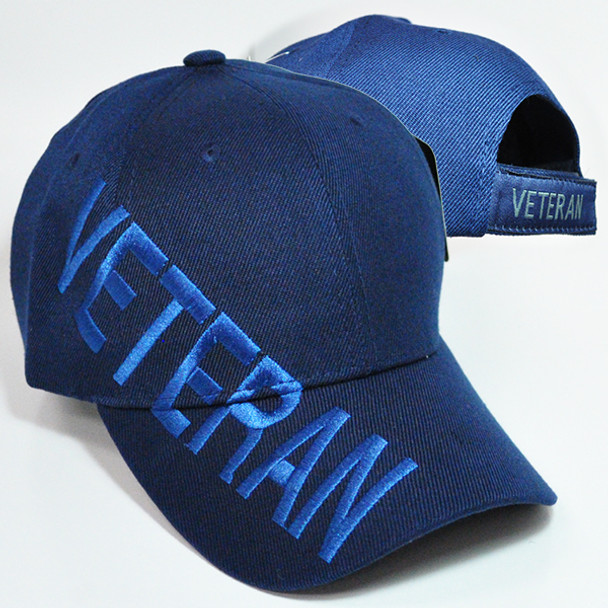 Veteran Cap Shadow - Navy