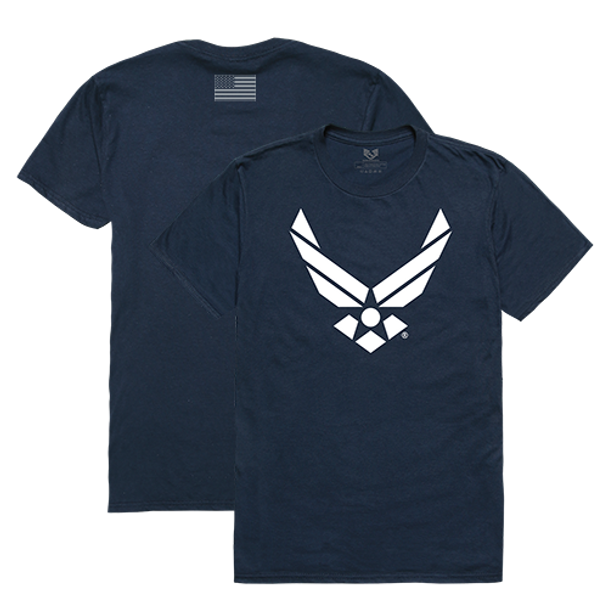 RS2 - Relaxed Graphic T-Shirt - U.S. Air Force Wings - Navy Blue