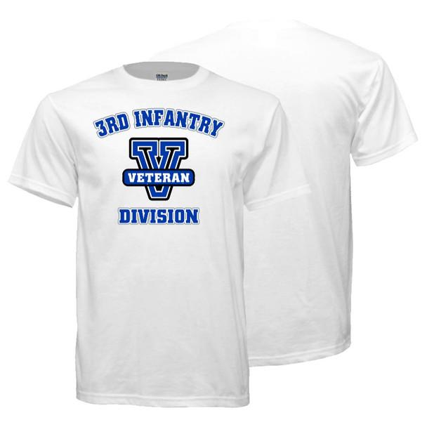 3rd Infantry Division Veteran T-Shirt (White)
