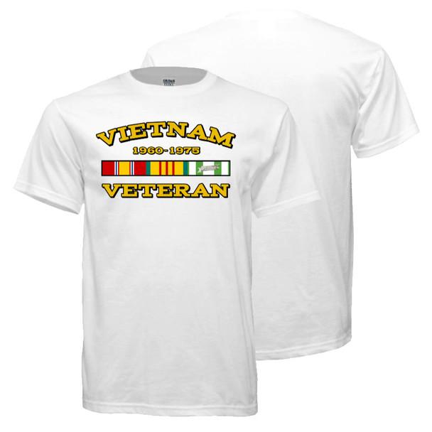 Vietnam Veteran T-Shirt (White)
