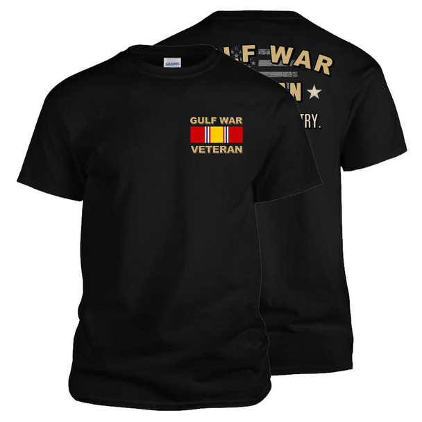 Gulf War Veteran T-Shirt (Black)