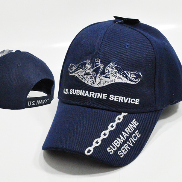 U.S. Navy Submarine Service Cap - Navy Blue
