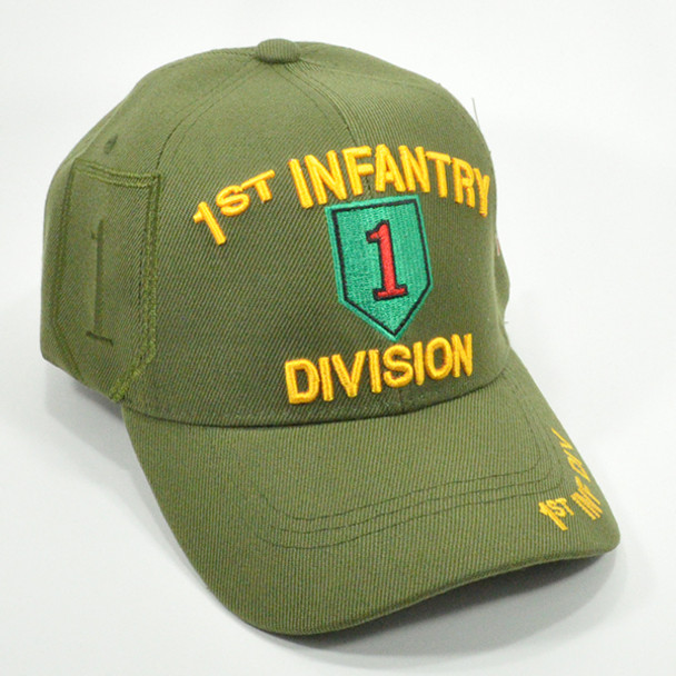 1st Infantry Division Cap Shadow - Olive