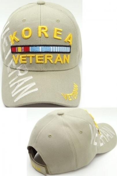 Korea Veteran Cap Shadow - Khaki