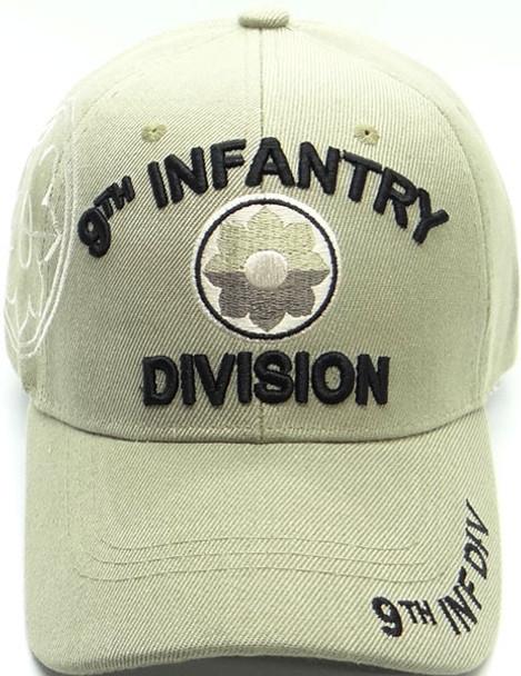 9th Infantry Division Cap Shadow - Khaki