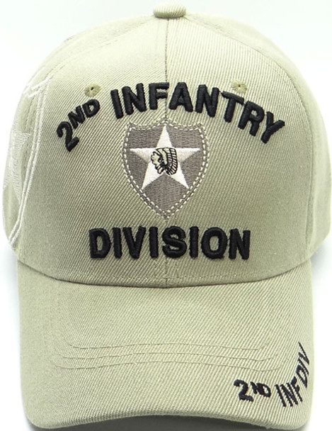 2nd Infantry Division Cap Shadow - Khaki