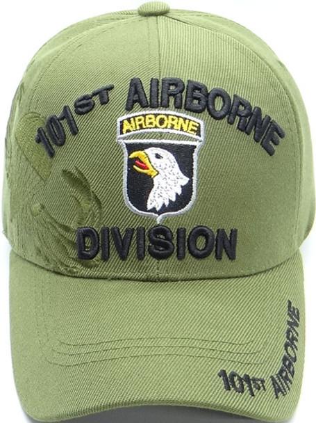 101st Airborne Division Cap Shadow - Olive/Black