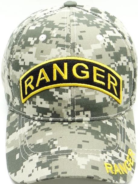 Army Ranger Cap - ACU Digital Camo