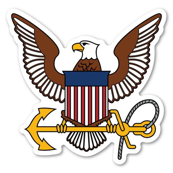 Navy Logo Magnet