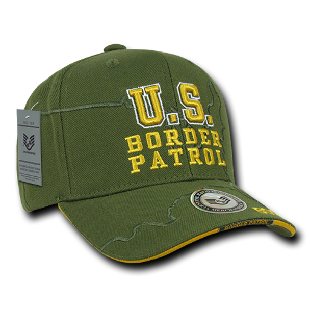 JW7 - U.S. Border Patrol Cap Shadow