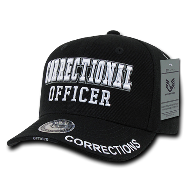 JW - Correctional Officer Cap Black