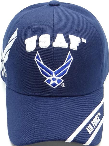 U.S. Air Force Cap Wings Shadow - Navy Blue