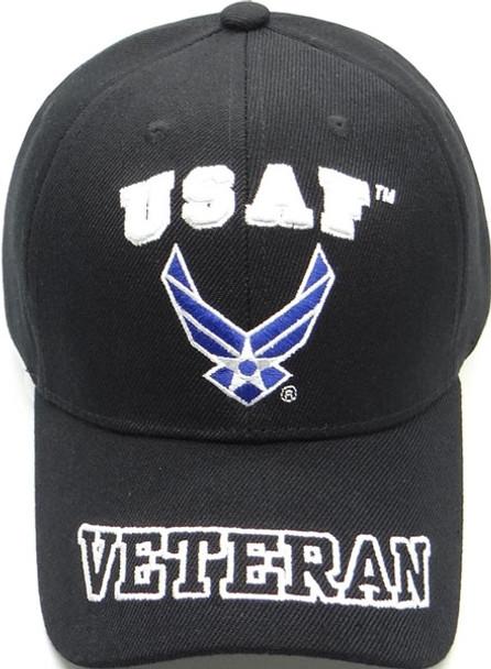 U.S. Air Force Veteran Cap - Black