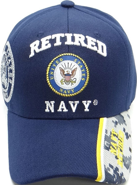 U.S. Navy Retired Cap - Navy Blue