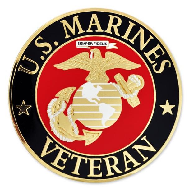 U.S. Marines Veteran Lapel Pin