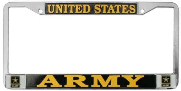 U.S. Army License Plate Frame - LFA42
