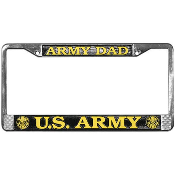 U.S. Army Dad License Plate Frame - LFA05