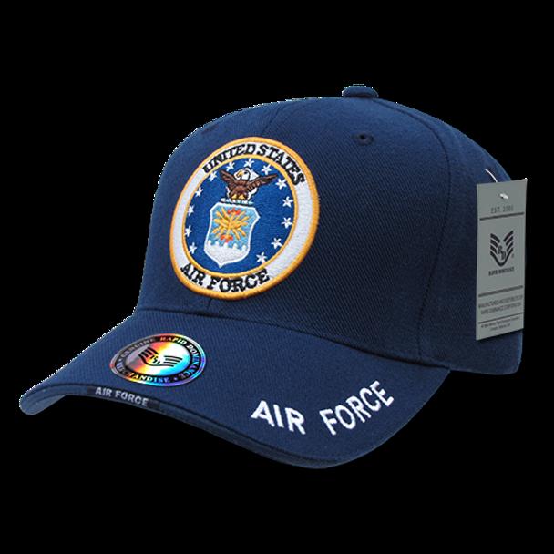 S001 - Military Cap - U.S. Air Force - Blue