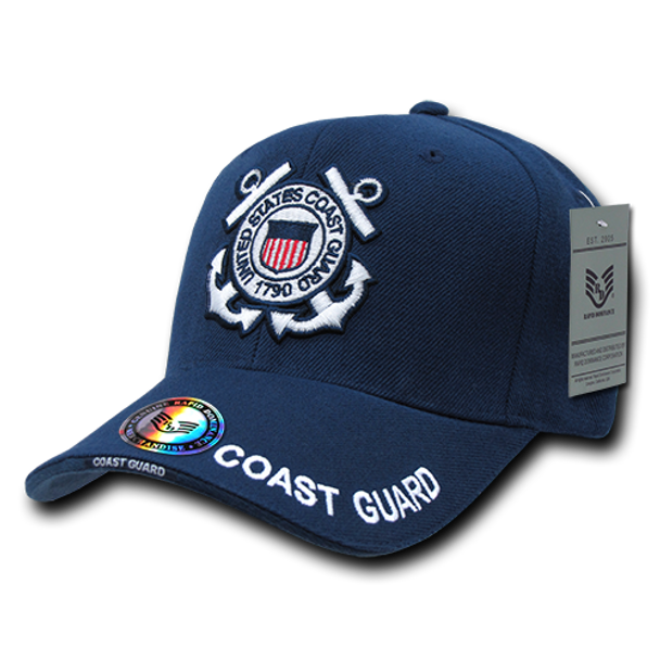 S001 - Military Cap - U.S. Coast Guard - Navy