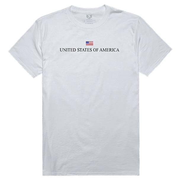 Relaxed Graphic T-Shirt USA White