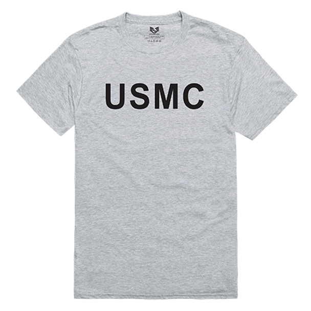 Relaxed Graphic T-Shirt USMC Heather Grey