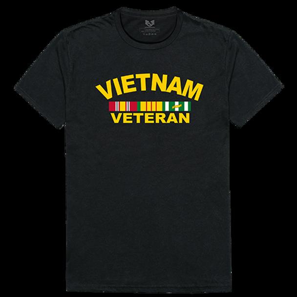 Relaxed Graphic T-Shirt Vietnam Veteran Black