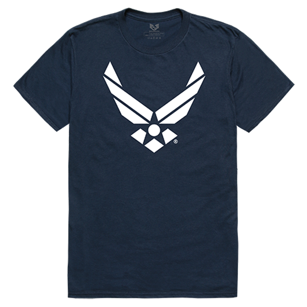 Relaxed Graphic T-Shirt Air Force Wing Navy