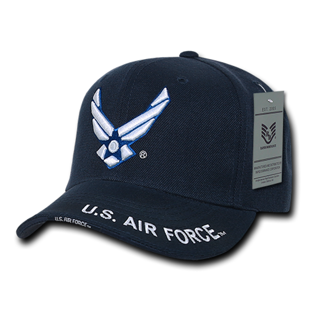S001 - Military Cap - U.S. Air Force Wings - Navy