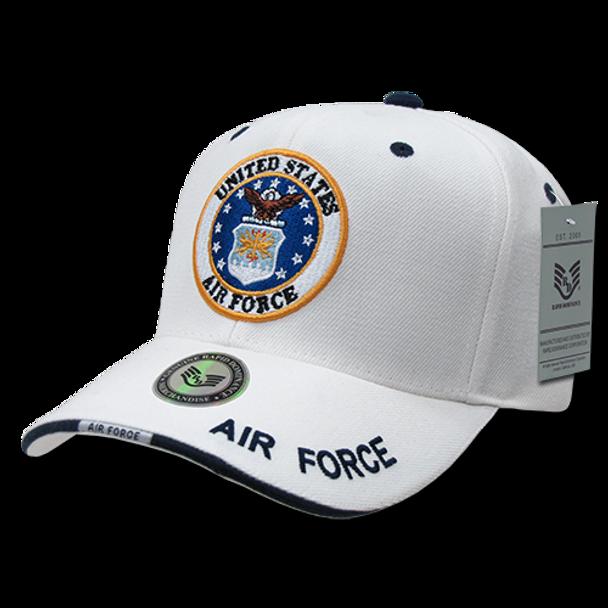 S22 - Military Cap - U.S. Air Force - White