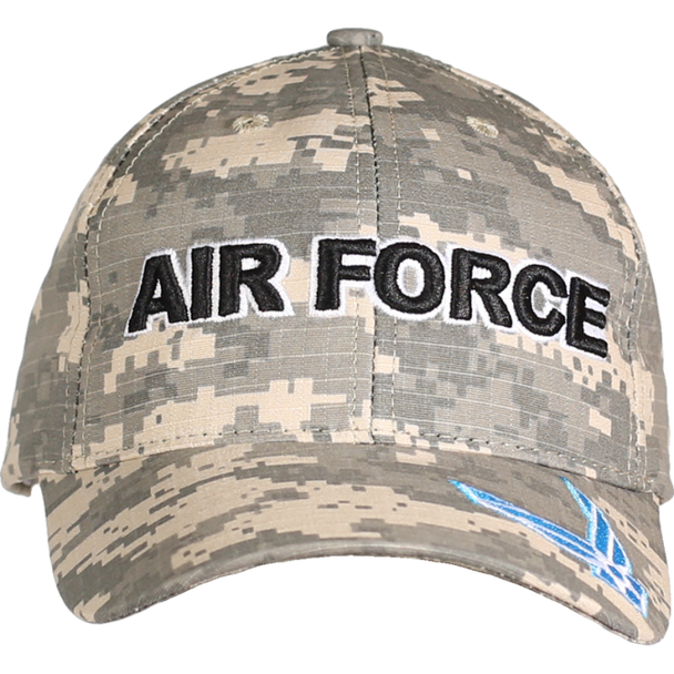 21578 - Made In USA Military Hat - U.S. Air Force - Digital Camo