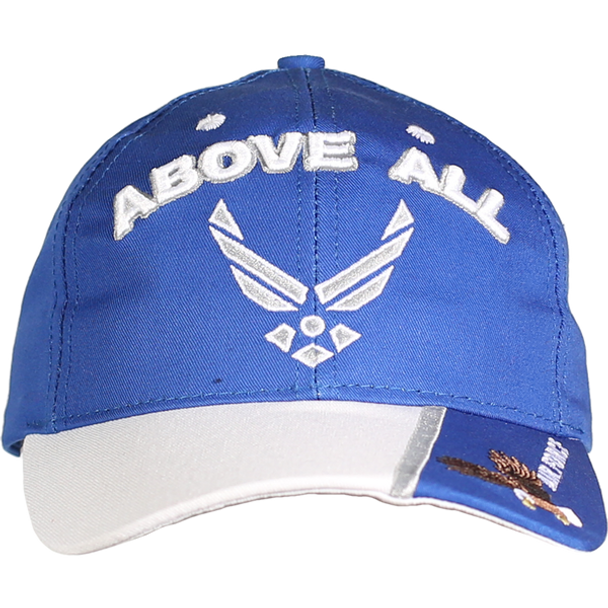 21622 - Made In USA Military Hat - U.S. Air Force - Slogan - Above All