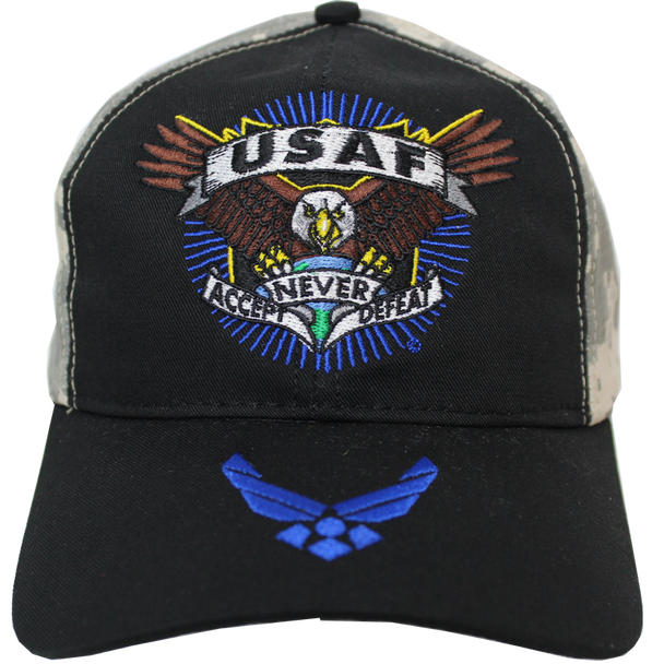 23398 - Made In USA Military Hat - U.S. Air Force - Defender