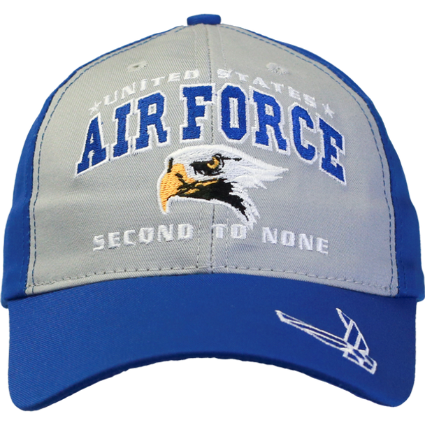 26283 - Made In USA Military Hat - U.S. Air Force - Second to None