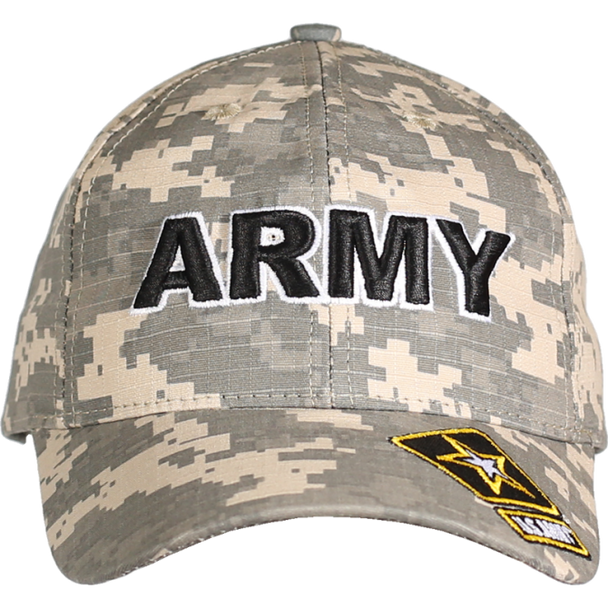 21554 - Made In USA Military Hat - U.S. Army - Digital Camo