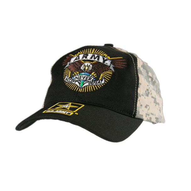 23374 - Made In USA Military Hat - U.S. Army - Defender