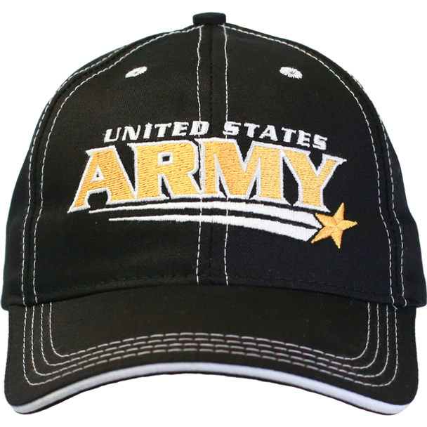 26177 - Made In USA Military Hat - U.S. Army - Shooting Star