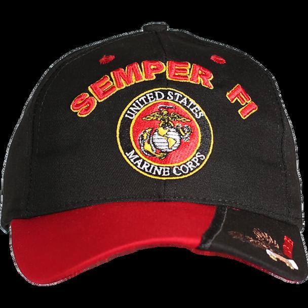 21592 - Made in USA Marines Cap SEMPER FI