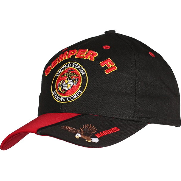 21592 - Made in USA Marines Cap SEMPER FI