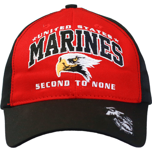 26252 - Made In USA Military Hat - U.S. Marines - Second to None