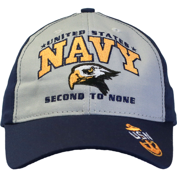 26276 - Made In USA Navy Cap United States Navy Second To None