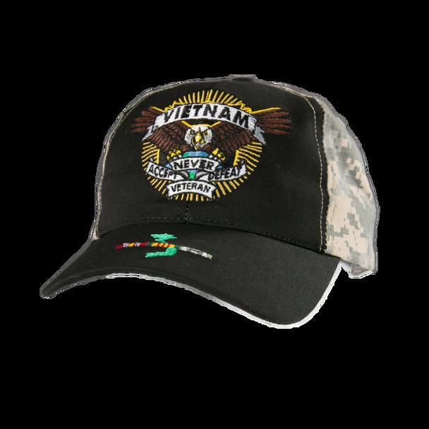 23404 - Made In USA Military Hat - Vietnam Veteran - Defender