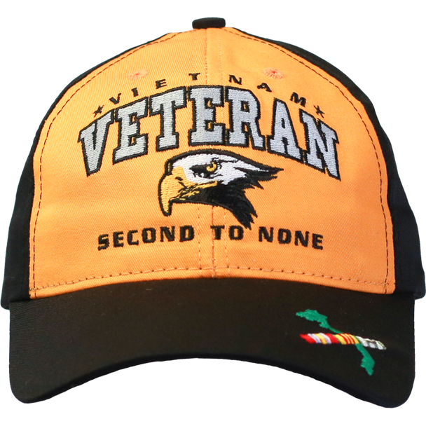 26290 - Made In USA Military Hat - Vietnam Veteran - Second to None
