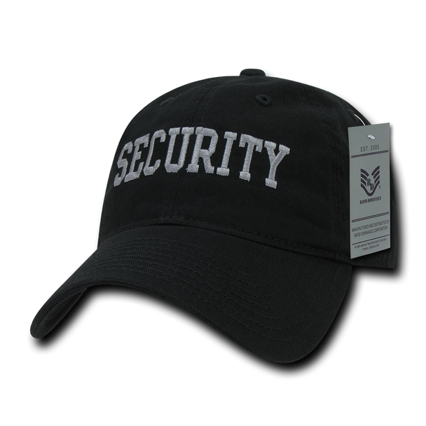 S78 - Security Cap - Relaxed Cotton - Black